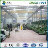 Costruzione prefabbricata chiara della struttura d'acciaio per l'ufficio del gruppo di lavoro del magazzino