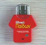 최고 승진 선물 로고를 가진 플라스틱 USB 섬광 드라이브