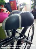 La nuova sella con cotone largo, sede comoda per la bicicletta, va in bicicletta i pezzi di ricambio