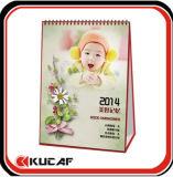 Carrinho Desktop do calendário do calendário da tabela de Promotioal