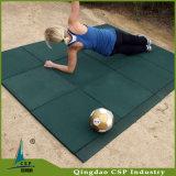 スリップ防止の体操のフロアーリングのマットによってリサイクルされるゴム製タイル