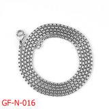 Halsband de van uitstekende kwaliteit van de Ketting van de Doos van het Roestvrij staal van de Manier