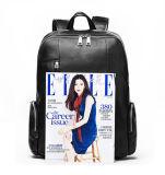 Хорошее качество низкая цена верхней части зерна кожаные сумка для ноутбука рюкзак для мужчин