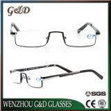 Ultimi vetri di lettura del metallo di modo di disegno Eyewear con il caso
