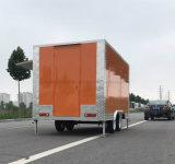 Aliments de préparation rapide mobiles Van de moto professionnelle
