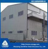 Solo edificio modificado para requisitos particulares de la estructura de acero de la historia del palmo grande con la viga de acero Q235