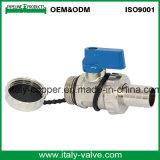 OEM & ODM Vanne à bille en laiton nickelé de qualité (AV1050)