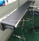 Черный 2.0mm гладкой глянцевой износостойкими ПВХ ленты транспортера
