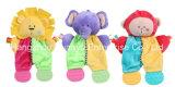 工場供給の多彩な幼児Teether動物のおもちゃ