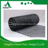 80/80 vidrio de fibra de alta resistencia de Kn/M Geogrid usado en ferrocarril