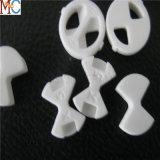 Disco redondo de cerámica refractario con el orificio