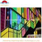 강화 유리 박판으로 만들어진 단단하게 한 유리제 명확한 부유물 또는 장식무늬가 든 유리 제품 또는 건물 유리 또는 계산된 유리제 유리제 사려깊은 착색하거나 색을 칠하는 유리