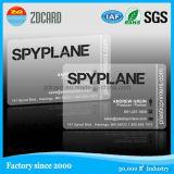 플라스틱 투명한 방문 Card/RFID ID PVC 카드