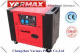 Yarmax 5.5kVA 6.5kVA 공기에 의하여 냉각되는 침묵하는 디젤 엔진 발전기 휴대용 경제 Genset Ym6700t