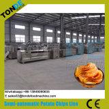 De industriële Lijn van de Verwerking van de Spaanders van de Taro van de Olie van het Roestvrij staal Bradende