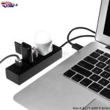 5 in 1 Schnittstelle USB-Nabe für fördernde Nabe der Geschenk-Geschwindigkeit-4 der Kanal-USB3.0