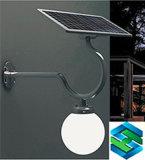 Luz de calle al aire libre solar del sensor de movimiento del LED fácil