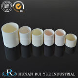 Crogiolo di ceramica di allumina a temperatura elevata