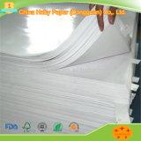 Weiße Packpapier-Rolle für die Papierbeutel-und Kasten-Herstellung aufbereiten