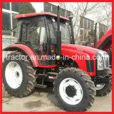 90HP de Tractor van het landbouwbedrijf, Landbouwtrekker Op wielen (FM904T)