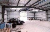 Almacén de acero de la estructura de acero del diseño de la construcción de la construcción del almacén (DG1-038)