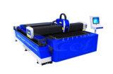 cortador del laser de la fibra 500W para los fabricantes del tubo del metal y del tubo de hoja