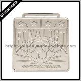 2015 premio Sports Souvenir Metal Medal con Ribbon/Football Sports Medal (BYH-10846)