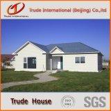 Вид сбоку сборные дома в качестве временных условий жизни дома