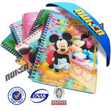 New Design 3 D Lenticular Spiral Notebook
