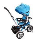 Tricycle de poussée de bébé de mode et pièces neufs de tricycle pour des gosses
