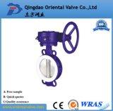 China Fabricante Dn80 Excêntrico Dupla Válvula Borboleta Com Flanges