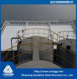 化学工業のための鋼鉄および膜の構造の構築