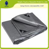 tela de estiramento impermeável recicl de prata de encerado 200GSM
