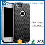 Het nieuwste Geval van de Toebehoren van de Telefoon van het Ontwerp van de Korrel van de Vezel van de Koolstof Mobiele voor Redmi Note4