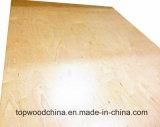 Grado de muebles Bintangor/Okoume/UV Birch/pino/Comercial de madera contrachapada de álamo