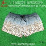 100% poliéster Man Sublimation Beach Swim Shorts