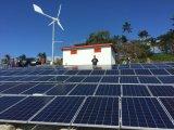 Potencia Ane de la fuente de sistema de híbrido del viento solar para del uso de la red