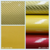 Buntes Patent-Drucken PU-Leder, dekoratives verpackenleder