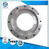 L'usine a modifié la bride d'acier de haute précision et de qualité 1045