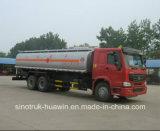 De Diesel van Sinotruk HOWO 6*4 en de Vrachtwagen van de Tanker van de Brandstof