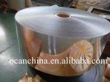Apagar uma Folha de tereftalato de Rolo para formação de vácuo