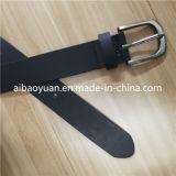 Cinghia stretta della tessitura della cinghia di cuoio delle donne, cinghia nera della cintura