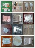 高速フルオートの使い捨て可能な箸のスプーンのナイフおよびフォークの枕パッキング機械