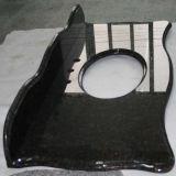 Diseñado hermosa Negro superior de la vanidad del granito para la cocina / baño