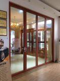 Дверь подгонянная высоким качеством алюминиевая Bifold