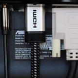 28AWG 땋는 코드를 가진 나일론 끈목 HDMI 케이블 4k 2.0