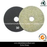 4 '' tampones para pulir electrochapados /5 '' /6 '' diamante
