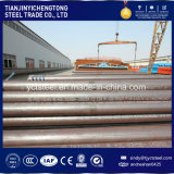 Tubo de acero inconsútil del carbón de ASTM A106b que transporta el líquido
