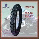 Lange Lebensdauer, inneres Gefäß des ISO-Nylonmotorrad-6pr, Motorrad-Reifen 300-18, 300-17