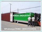 Cer-Qualitäts-Nahrungsmittel-LKW-mobiler Nahrungsmittelschlußteil-Lebesmittelanschaffung-Schlussteil